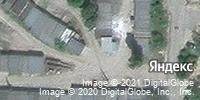 Фотография со спутника Яндекса, улица Леонова, дом 12 в Камышине