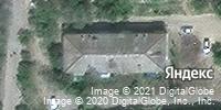 Фотография со спутника Яндекса, улица Леонова, дом 25 в Камышине