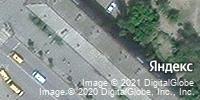 Фотография со спутника Яндекса, улица Ленина, дом 11 в Камышине