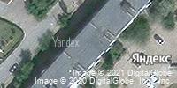 Фотография со спутника Яндекса, улица Терешковой, дом 16 в Камышине