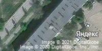 Фотография со спутника Яндекса, улица Терешковой, дом 20 в Камышине