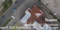Фотография со спутника Яндекса, улица имени С.Т. Разина, дом 32 в Саратове