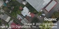 Фотография со спутника Яндекса, улица Хользунова, дом 15 в Саратове