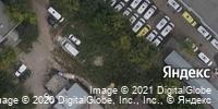 Фотография со спутника Яндекса, улица Хользунова, дом 36В в Саратове