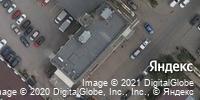Фотография со спутника Яндекса, улица Хользунова, дом 21Б в Саратове