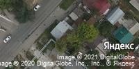 Фотография со спутника Яндекса, улица Хользунова, дом 44 в Саратове