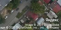 Фотография со спутника Яндекса, улица Хользунова, дом 46 в Саратове