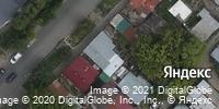 Фотография со спутника Яндекса, улица Хользунова, дом 52 в Саратове