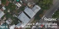 Фотография со спутника Яндекса, улица Хользунова, дом 43 в Саратове