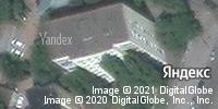 Фотография со спутника Яндекса, улица Радищева, дом 3 в Саратове