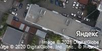 Фотография со спутника Яндекса, улица Радищева, дом 11 в Саратове