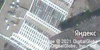 Фотография со спутника Яндекса, улица Радищева, дом 4/6 в Саратове
