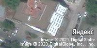 Фотография со спутника Яндекса, улица Радищева, дом 15А в Саратове