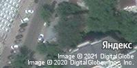 Фотография со спутника Яндекса, улица Радищева, дом 10 в Саратове