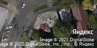 Фотография со спутника Яндекса, улица Радищева, дом 12 в Саратове