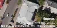 Фотография со спутника Яндекса, улица Радищева, дом 16 в Саратове