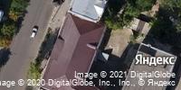 Фотография со спутника Яндекса, улица Радищева, дом 20 в Саратове