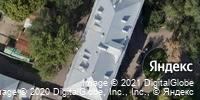 Фотография со спутника Яндекса, улица Радищева, дом 27 в Саратове