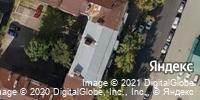 Фотография со спутника Яндекса, улица Радищева, дом 25 в Саратове