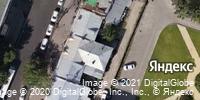 Фотография со спутника Яндекса, улица Радищева, дом 24 в Саратове