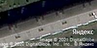 Фотография со спутника Яндекса, улица Пирогова, дом 8 в Чебоксарах