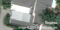 Фотография со спутника Яндекса, улица Ленина, дом 1А в Балакове