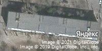 Фотография со спутника Яндекса, улица Татищева, дом 18, корпус 1 в Астрахани