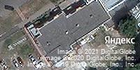 Фотография со спутника Яндекса, Октябрьская улица, дом 34А в Ульяновске