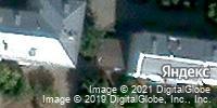 Фотография со спутника Яндекса, улица 25 Октября, дом 16Б в Казани