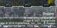 Фотография со спутника Яндекса, улица Четаева, дом 47 в Казани