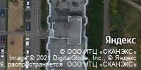 Фотография со спутника Яндекса, улица Комиссара Габишева, дом 25А в Казани