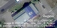 Фотография со спутника Яндекса, Офицерская улица, дом 35Б в Тольятти