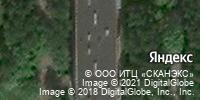 Фотография со спутника Яндекса, Производственная улица, дом 5 в Кирове