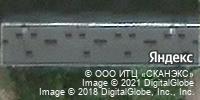Фотография со спутника Яндекса, Производственная улица, дом 8, корпус 1 в Кирове
