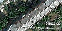 Фотография со спутника Яндекса, улица Победы, дом 135 в Самаре