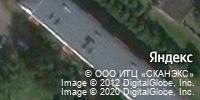 Фотография со спутника Яндекса, проспект Химиков, дом 36Д в Нижнекамске