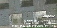 Фотография со спутника Яндекса, улица Труда, дом 28 в Ижевске