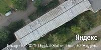 Фотография со спутника Яндекса, улица Труда, дом 14 в Ижевске
