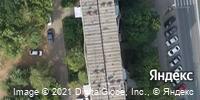 Фотография со спутника Яндекса, улица Труда, дом 4 в Ижевске