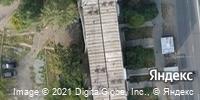 Фотография со спутника Яндекса, улица Труда, дом 6 в Ижевске