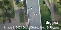Фотография со спутника Яндекса, улица Труда, дом 1, корпус 1 в Ижевске