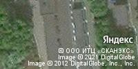 Фотография со спутника Яндекса, улица Труда, дом 17 в Ижевске