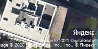 Фотография со спутника Яндекса, улица Пирогова, дом 6 в Уфе