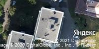 Фотография со спутника Яндекса, улица Шота Руставели, дом 21 в Уфе