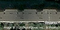 Фотография со спутника Яндекса, улица Ворошилова, дом 14 в Магнитогорске