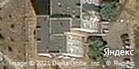 Фотография со спутника Яндекса, улица Ворошилова, дом 13 в Магнитогорске