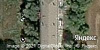 Фотография со спутника Яндекса, улица Ворошилова, дом 9/3 в Магнитогорске