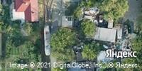 Фотография со спутника Яндекса, улица Кирова, дом 57 в Екатеринбурге