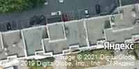 Фотография со спутника Яндекса, улица Фурманова, дом 66 в Екатеринбурге