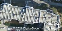 Фотография со спутника Яндекса, улица Вилонова, дом 14А в Екатеринбурге